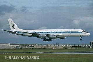 DOUGLAS DC8-72 N2547R CAMMACORP