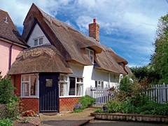 Robin Cottage, Rattlesden (dogmarten28) Tags: robincottage birdsgreen rattlesden midsuffolk suffolk eastanglia cottage thatched spring sunshine garden