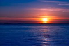 Mulevika Sunset (knutpettersfoto) Tags: navyblue blue orangered landskaps norge landscape coast sea gold bilde europe orange knutpetter´sfoto