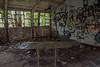 Teachers desk (tbolt-photography.com) Tags: derelict derp derelictplaces derelictbuildings decay abandoned abandonedplaces abandonedbuildings urbex urbandecay nikon