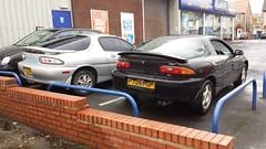 1996 Mazda MX3 1.8 V6 SE and 1996 Mazda MX3 1.5 Auto Coupe (micrak10) Tags: mazda mx3 v6 se auto coupe autozam az3