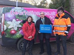 Visiting Fleurtations for Small Business Saturday
