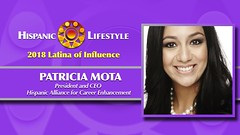 2018 Latina of Influence Patricia Mota