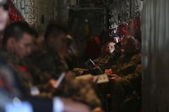C-130 Rolling Down The Strip (SAVG.uno) Tags: pohang exercise lighting photography pals korea southkorea rok usmc marinecorps marines aircraft c130
