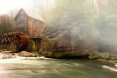 Gristmill (JCTopping) Tags: mill 6d 24mm westvirginia canon fog river gristmill danese unitedstates us