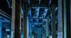 eisenhower overpass (pbo31) Tags: bayarea california nikon d810 color night dark black march 2018 boury pbo31 urban sanfrancisco city roadway bridge tunnel overpass somisspo centralfreeway 80 101 steel support soma blue