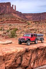 The White Rim (RH Miller) Tags: rhmiller reedmiller landscape sandstone redrock jeep whiterimtrail canyonlandsnationalpark utah usa
