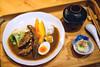 和牛咖哩 (M.K. Design) Tags: taiwan yilan dinner food fish curry nikon sigma 50mm f14 bokeh café 台灣 宜蘭 travel life 礁溪 里海咖啡 定食 尼康 適馬 淺景深 散景 和牛 咖哩 晚餐 日式 咖啡