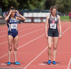 Stanford Invitational 2018 (harjanto sumali) Tags: 800m carolynwilson kellyhart ncaa notredame stanford stanfordinvitational2018 field sport track trackfield trackandfield