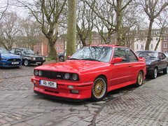 BMW M3 A6HDM (Andrew 2.8i) Tags: queen queens square bristol breakfast club show meet car cars classic german saloon sports mpower e30 m3 bmw