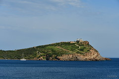 Temple Of Poseidon (Cats and Trains) Tags: sounio capesounio aegean sea greece templeofposeidon yachting sounion temple poseidon cape attica