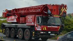 GB - Bryn Thomas Grove (BonsaiTruck) Tags: bryn thomas grove kran autokran mobilkran crane cranes grue lifter
