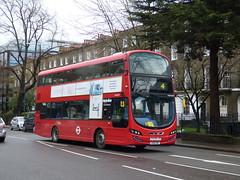 You Had One Job HT (londonbusexplorer) Tags: metroline travel volvo b5lh wrightbus gemini 3 214 moorgate finsbury sqaure angel camden town highgate village tfl london buses vwh2095 lk15cwt
