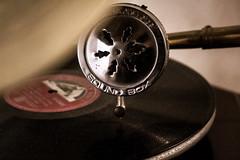 Unz unz! (LaSagra) Tags: backintheday macromondays grammofono old molto vintage gramophone music