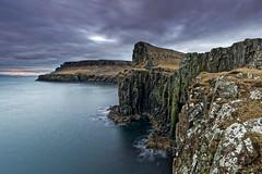 Neist Point Cliffs (Johan Konz) Tags: neistpoint lighthouse isleofskye skye scotland cliff sea ocean water shoreline sky longexposure landscape seascape waterscape nikon d7500 rock bay