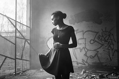 ([ pydjhaman ]) Tags: portrait nb bw blackandwhite noiretblanc model modelphoto modelling mannequin frenchmodel girl frenchgirl pretty beauty afro metisse mixed sensuality fashion mode luxembourg thionville metz nancy realisateur photographe artist filmmaker photographer pydjhaman