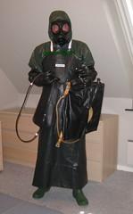 14 (gummifan61) Tags: r rainwear raingear rubberslave gasmaske gummislave bondage