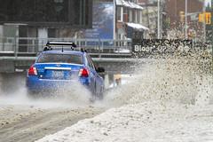Toronto ice storm 2018 - Bloor Street traffic (jer1961) Tags: toronto storm snowstorm icestorm snow ice torontoicestorm torontoicestorm2018 traffic bloorstreet subaru impreza subaruimpreza