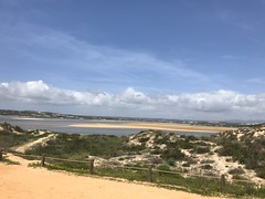 View from Boardwalk - Alvor, Algarve, Portugal - April 2018 (firehouse.ie) Tags: landscape seascape boardwalk sand beaches beach portugal bay ocean atlantic alvor algarve shoreline shore seaside sea