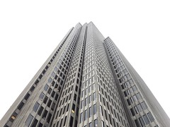 skyward (eb78) Tags: ca california iphone iphoneography sf sanfrancisco financialdistrict embarcaderocenter architecture