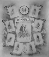 Winnipeg Bicycle Club, 1896 [LAC] (vintage.winnipeg) Tags: winnipeg manitoba canada vintage history historic sports