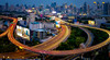 Evening rush hour (Stan Smucker) Tags: lighttrails bangkok