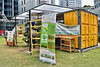 The Travelling Farm (chooyutshing) Tags: thetravellingfarm cargocontainer rafflesplacepark centralbusinessdistrict singapore