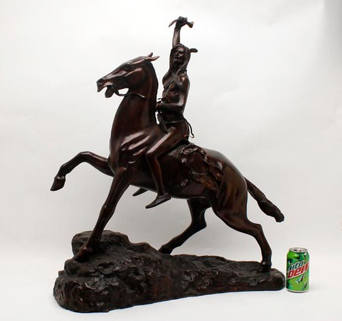 Remington Indian Warrior Bronze Sculpture ($1,848.00)
