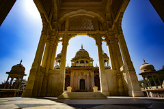 "The Marble Mausoleums Of Jaipur (El-Branden Brazil) Tags: aipur asia gangaur ""gangaur festival"" festival india indian asian ""south asia"" rajasthan hindu hinduism"