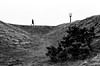 The Beacon Beckons: going up to look down (Richie Rue) Tags: highplaces huddersfield yorkshire castlehill beacon walking walker alone solitary hill monochrome blackandwhite nikonfm rollei rpx100 35mm film analogue analog ishootfilm istillshootfilm shootfilmstaybroke nograinnoglory champion promicrol homedeveloped