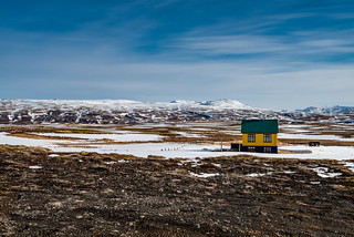 Iceland - Yellow house