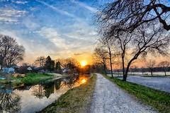 Friday the 13th Sunrise (kendoman26) Tags: hss happyslidersunday fotosketcher hdr nikhdrefexpro2 nikon nikond7100 tokinaatx1228prodx tokina tokina1228 imcanal iandmcanal imcanaliandmcanal canal