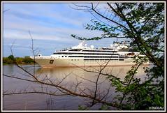 Arrivée du SOLEAL dans le Port de BORDEAUX (Les photos de LN) Tags: garonne estuaire port portdelalune navire croisière vacances loisirs bordeaux aquitaine soleal gironde