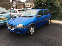 Vauxhall Corsa 1.2 CDX 16v (auto) (VAGDave) Tags: vauxhall corsa 12 cdx 16v auto 1999