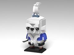 Usagi Yojimbo, BrickHeadz MOC (headzsets) Tags: lego legophotography legomoc legomocs moc legobricks afol usagiyojimbo usagi stansakai tmnt ninjaturtles teenagemutantninjaturtles