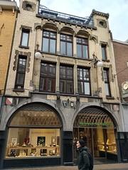Art nouveau building (Sparky the Neon Cat) Tags: europe netherlands holland utrecht building art nouveau schaap citroen steenweg 65 shop