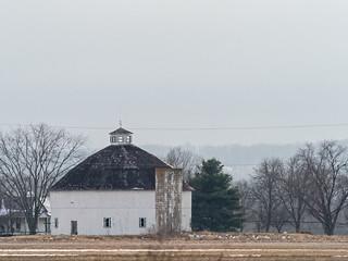 IMGPJ31888_Fk -  - Jackson County Indiana - Round Barn