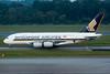 Singapore Airlines Airbus A380-841 9V-SKI (Mark Harris photography) Tags: spotting plane airbusa380 wsss singapore sia sq