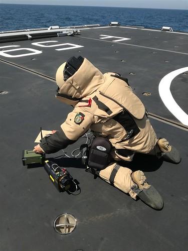 Operazione Atalanta: addestramento anti mine