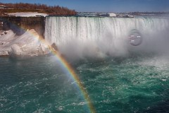 Niagara Falls Rainbow - Bubble? (xx397) Tags: bubble rainbow lake waterfalls niagara falls canada water nature colorful ontario trip waterfall