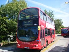 Arriva London bus No. VLW 131, registration No. LJ03 MHA. (johnzebedee) Tags: bus motorbus transport publictransport tfl stanmore london johnzebedee arriva volvo volvob7tl