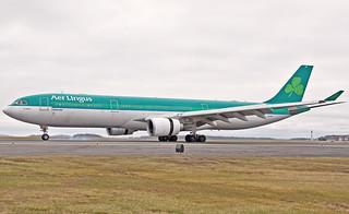 EI-DUZ 4R landing Aer Lingus A330-300 St.Aoife