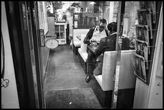 Kagurazaka, Shinjuku-ku, Tōkyō-to (GioMagPhotographer) Tags: tōkyōto peoplegroup kagurazaka eastofthesun shinjukuku dining japanproject japan leicamonochrom tokyo tkyto