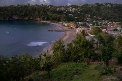 Moon night (Plamen Troshev) Tags: night light village caribbean wave beach tree forest blue sea ocean new explore