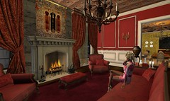 Secret Lives: Episode 42:Tuesday 3/20/2018 (Teddi Beres) Tags: second life sl secret lives rich wealthy money snob elite interior mansion selfish selfcentered mom mother drama melodrama soap opera