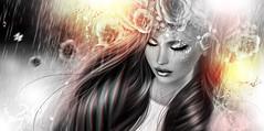 🌟 Oema 🌟 Raining... gold! (AyE ღ I'м α vιѕιoɴΛЯT) Tags: digitalart digitalpainting digitalfantasy painting artworks portraits beauty illustrations artportrait ritratto retrato portrature dreamy vision magical emotionalart emotional gold rain raining oemaresident