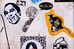 Roma. Trastevere. Street art by Dead_by_it, Cara Carmina, Guaro (R come Rit@) Tags: italia italy roma rome ritarestifo photography streetphotography urbanexploration exploration urbex streetart arte art arteurbana streetartphotography urbanart urban wall walls wallart graffiti graff graffitiart muro muri artwork streetartroma streetartrome romestreetart romastreetart graffitiroma graffitirome romegraffiti romeurbanart urbanartroma streetartitaly italystreetart contemporaryart artecontemporanea artedistrada underground trastevere rionetrastevere poster posterart colla glue paste pasteup deadbyit caracarmina guaro