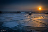 Warm and Cold (Dan NYNJ) Tags: chicago sunrise lakemichigan dock nikon winter ice pier