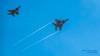 AN EAGLE BREAKS OFF FROM ANOTHER EAGLE... UNDER THE BLUE YONDER (AvgeekJoe) Tags: 123fightersquadron 123rdfs 123rdfightersquadron 142fw 142ndfw 142ndfighterwing 850130 airforce airnationalguard boeingeagle boeingf15eagle boeingf15ceagle boeingf15deagle d5300 dslr f15c f15ceagle f15d f15deagle importedkeywordtags kpdx mcdonnelldouglasf15eagle mcdonnelldouglasf15ceagle mcdonnelldouglasf15deagle nikon nikond5300 oregonang oregonairnationalguard oregonairnationalguard142dfighterwing pdx portlandairnationalguardbase portlandinternationalairport usairforce usaf airsuperiorityjet aircraft airplane aviation bluesky cn951d056 combataircraft eagle fighterjet formation formationflight formationflying jet militaryaircraft militaryaviation plane vape vapes vapor vapors watervapor