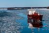 Happy Vernal Equinox Day (langdon10) Tags: canada canon70d quebec ship shoreline spring stlawrenceriver cold outdoors